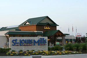 St. Louis Outlet Mall - Image: Stlouismillslogo
