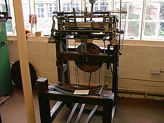 Ruddington - Stocking Frame at Ruddington Framework Knitters' Museum