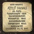 Stolperstein Delbrückstraße 19 (Grune) Adolf Hanau.jpg
