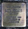 Stolperstein Friedrichstr 55 (Mitte) Meta Kroner.jpg