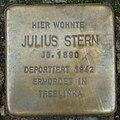Stolperstein Gießen Marktplatz 15 Julius Stern.JPG