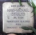 Stolperstein Helmstedter Str 29 (Wilmd) Hans-Michael Strauss.jpg