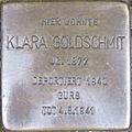 Stolperstein Karlsruhe Goldschmit Klara.jpeg