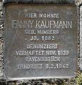 Stolperstein Lüdinghausen Olfener Straße 18 Fanny Kaufmann.jpg