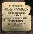 Stolperstein Pariser Str 11 (Wilmd) Nanny Krombach.jpg