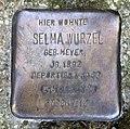 Stolperstein Swinemünder Str 74 (Gesbr) Selma Wurzel.jpg