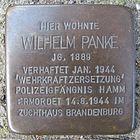 Stolperstein für Wilhelm Panke