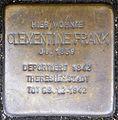 Stolpersteine Krefeld, Clementine Frank (Breite Straße 5).jpg