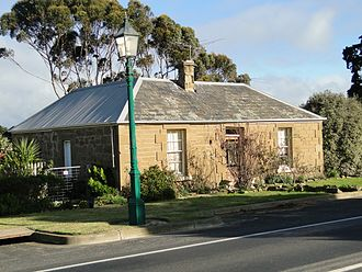 Ceres, Victoria - Historic stone house at Ceres