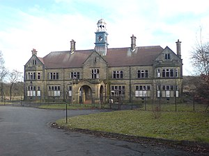 Storthes Hall - Storthes Hall Hospital in a state of disrepair