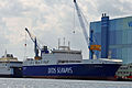 Stralsund, Volkswerft, IMO 9609952 Ark Germania (2013-07-30) 1, by Klugschnacker in Wikipedia.JPG