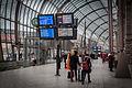 Strasbourg gare centrale écrans affichage 21 février 2016.jpg