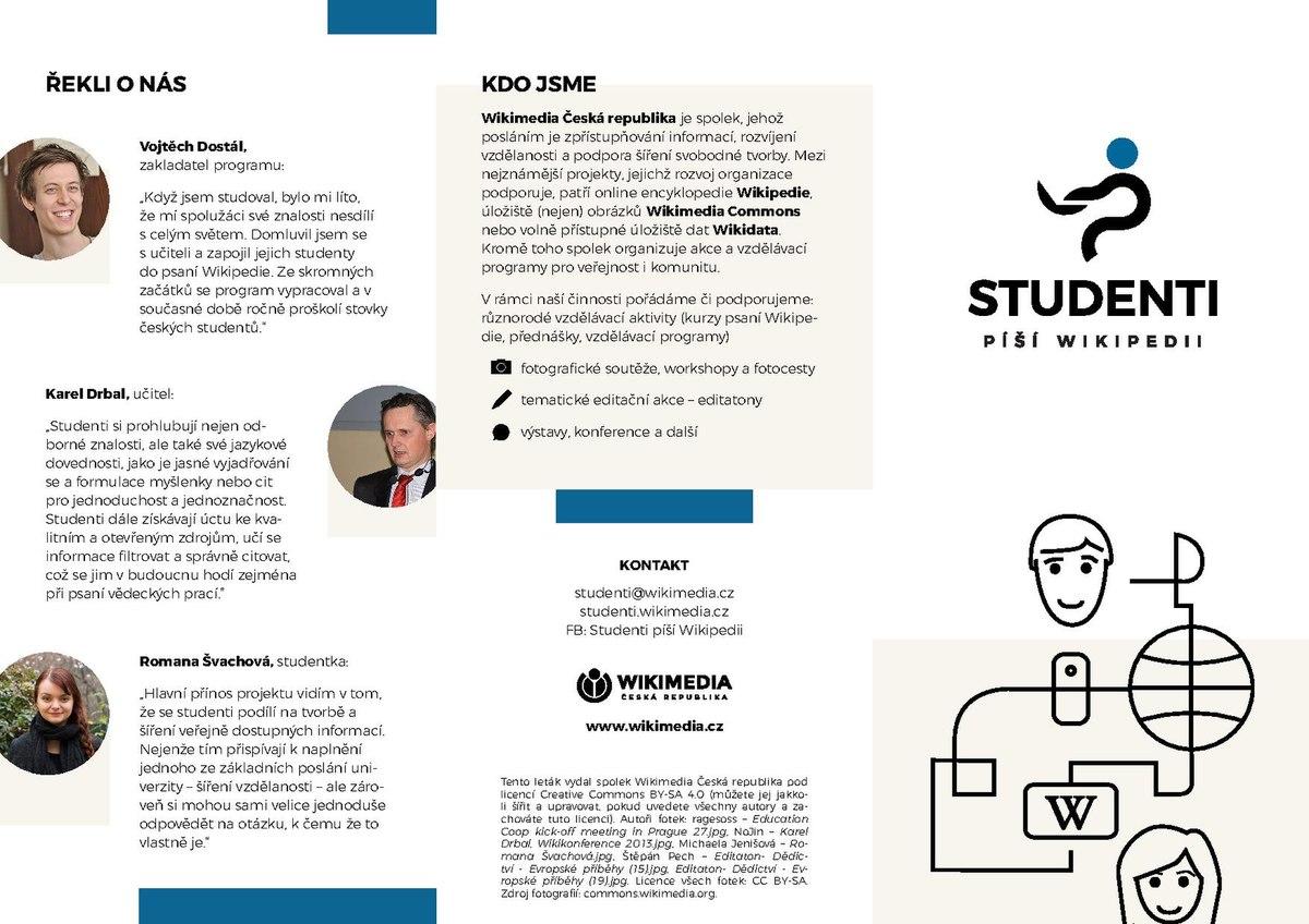 Soubor:Studenti píší Wikipedii - leták-2 pdf – Wikipedie