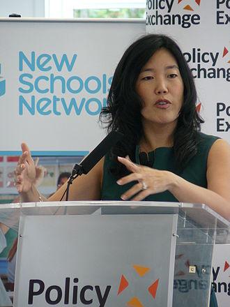 Michelle Rhee - Rhee speaking to Policy Exchange in 2012