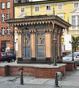 "Grodzisk Wielkopolski - Commemorative well ""of the blessed Bernard"""