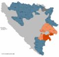 Subregija Foca u sastavu mezoregije Istocno Sarajevo.png