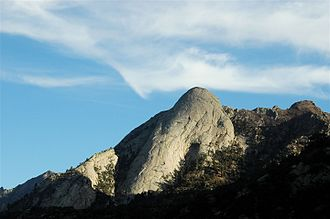 Organ Mountains - Sugarloaf Peak is a feature on the East side of the Organ Mountains