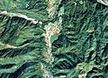 Sugeodaira Warm water reservoir Aerial photograph.1977.jpg
