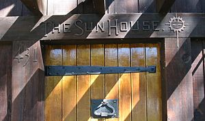 Grace Hudson Museum - Front door of Sun House