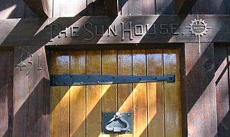 Grace Hudson Museum - Front door of Sun House