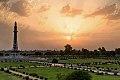 Sunset, Minar-e-Pakistan, Lahore.jpg