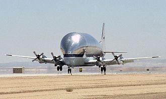 Aero Spacelines Super Guppy - Super Guppy Turbine used by NASA