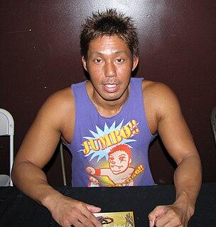 Susumu Mochizuki Japanese professional wrestler