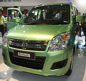 Suzuki IndoMobil Motor - Image: Suzuki Karimun Wagon R at the 2013 Indonesia International Motor Show