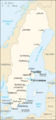 Sw-map, CIA World Factbook, Fjuckby pinpoint.png