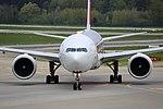 """Swiss International Air Lines Boeing 777-3DE-ER HB-JNA """"Faces of Swiss"""" livery (26691160815).jpg"""