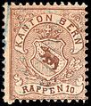 Switzerland Bern 1874 revenue 10rp - 4bA.jpg