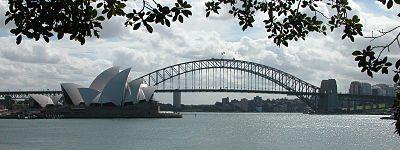 Harbour Bridge and Opera House