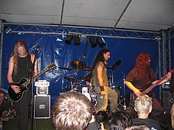 Symphorce auf dem Rage Against Racism 2007