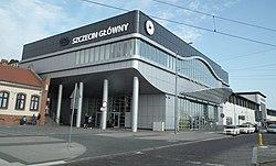 Szczecin Glowny new building