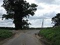 T-junction on Norwich - Reepham road near Alderford - geograph.org.uk - 528538.jpg