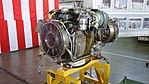 T700-IHI-401C turboshaft engine left front view at JMSDF Kanoya Air Base April 30, 2017 02.jpg