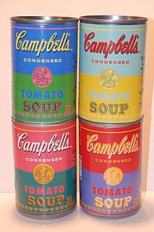campbell 39 s soup cans wikipedia. Black Bedroom Furniture Sets. Home Design Ideas