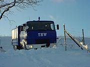 THW-GKW 1 im Einsatz