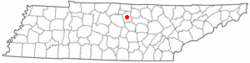 Location of South Carthage, Tennessee