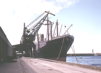 TV Havelstein in the Port of Valparaiso - 1963.png