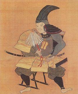 Takenaka Shigeharu Japanese samurai