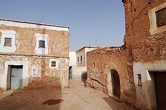 Taliouine - A street in Taliouine