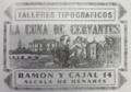 Talleres tipográficos La Cuna de Cervantes (c. 1924) anuncio.png