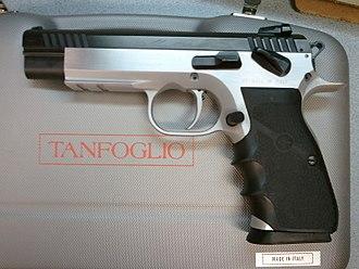 Tanfoglio - Image: Tanfoglio 10mm Match Pistol