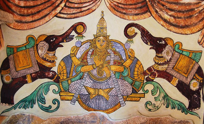 File:Tanjore Paintings - Big temple 01.JPG
