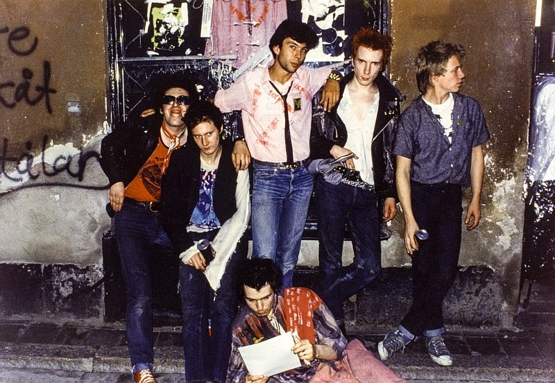 Tdpe 0002 xs Thomas Dellert and the Sex Pistols 1978