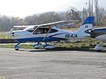 Tecnam P2010 n°006 (HB-KJA) - Aérodrome de Bellegarde-Vouvray, 2017.jpg
