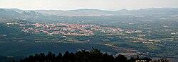 Tempio Pausania nhìn từ núi Limbara