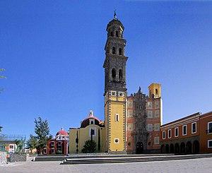 Templo San Francisco Puebla