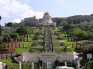 History of the Bahá'í Faith - Shrine of the Báb in Haifa, Israel